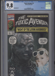 Toxic Avenger 3 Mt 9.8 Cgc Photo Cover Mench Story Ramos Art White Pages