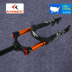Krsec 26/27.5/29andrdquo Mtb Bike Forks 100mm Travel Air Suspension Fork Rebound Adjust