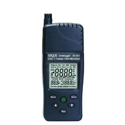 Tenmars St-501 Co2 And Temperature And Rh Monitor Tester Usb Datalogg
