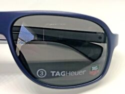 New Authentic Tag Heuer Sunglasses Mod Th 9301-103 Blue