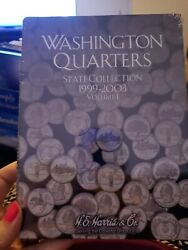 Washington Quarters State Collection 1999-2003 Volume 1 Book No Coins