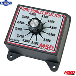 Msd Rpm Module Selector Switch From 3000-5200 Rpm- Black