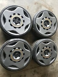 Audi A3 A4 S3 S4 Rs3 Vw Golf Passat 19 Messer Me09-1 Alloy Wheels And Tyres Grey