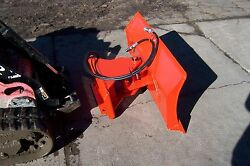 New 56 4 Way Dozer Blade Plow For Mini Skid Steer Fits Dingo, Ditch Witchxt850