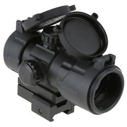 Utg 38mm Red Green Dot Qd Scope Sight For Ruger Pc Carbine Mossberg Savage Rifle