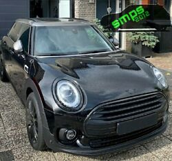 Mini F54 Clubman 2020 Lci Front Black Gloss Grille Surround Cover. Smps2012