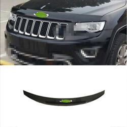 For Jeep Grand Cherokee 2014-2016 Black Front Grille Grill Engine Hood Trim Abs