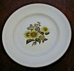 Royal Warwick Sunflower Replacement Dinner Plate 9 3/4