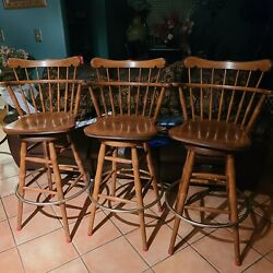 S. Bent And Bros Barstools