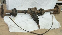 Mercedes Ponton W180 Differential Diff Drive Shaft Rear Axle Tube Housing 4 Cyl