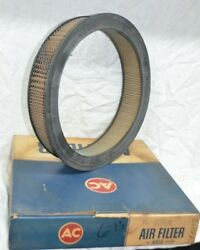 Nos 1959-66 Cadillac Buick Oldsmobile Oem Gm 564342 Ac A85c Air Filter Vintage