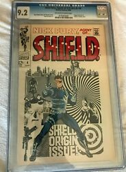 Nick Fury Agent Of Shield 4 Cgc 9.2 White Pages 1968 Jim Steranko Cover