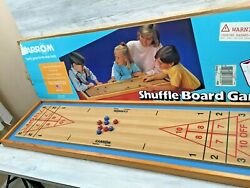 Vintage Carrom Shuffle Board Game Complete W/box No. 650 Merdel Game Mfg. Co.