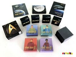 Star Trek 50th Anniversary Lot Of 12 Canada Coins 2016 Includes Gold Delta