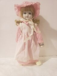 Very Htf Schmid Porcelain Musical Doll..you Are My Sunshine Vintage