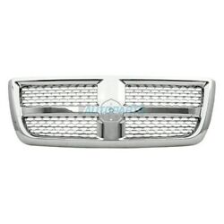 New Front Grille Chrome Frame Fits 2013-2018 Ram 2500 Ch1200371 68147353aa