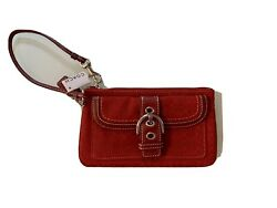 Red Coach Wristlet Brand New with tags $40.00