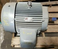 Rebuilt Reliance 60 Hp Electric Ac Motor 230/460 Vac 1780 Rpm 364t Frame 3 Phase