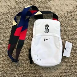 Nike Kyrie Small Bag White Black Size 9quot; H x 5quot; W x 3quot; D Shoulder Cross Body Bag $45.99