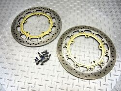 2009 09-12 Triumph 1050 Speed Triple R Front Disc Brake Rotor Straight