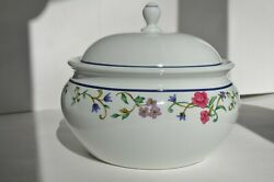 Lenox Casual Images Rose Garden Casserole Dish With Lid 9 1-251-9139-2 New