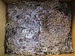 6lbs Aluminum Pull Tabs Pop Tops Soda Upcycle Arts Crafts Projects Jewelry