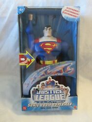2004 Mattel Dc Comics 12 Inch Sonic Zoom Superman Justice League Unlimited Nib