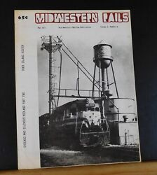 Midwestern Rails 1977 May Vol.3 No.5 Chicago And Illinois Midland Pt 2