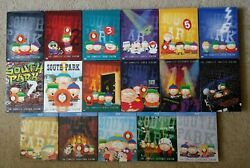 South Park Lot Of 17 Seasons - Complete Seasons 1-12 On Dvd And 13-17 On Blu-ray