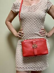 Tori Burch Crossbody Red Bag Excellent Condition $108.00