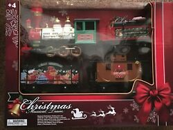 Echo Musical Christmas Train Set Battery Operated