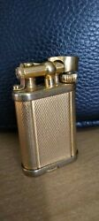 Vintage Dunhill Lift Arm Gold Plated Lighter