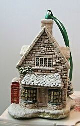 Lilliput Lane 1994 Christmas Ornament Ivy House Mint In Original Box With Deed