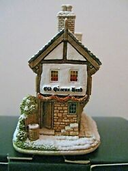 Lilliput Lane Snow Cottage L2947 Christmas Punch Mint In Box With Deed.