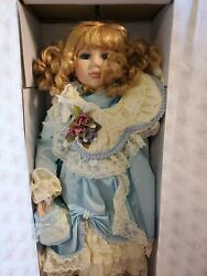 Dynasty Doll Collection Louisa 22 Nib Vintage 111 Of 1500 Rare And Perfect