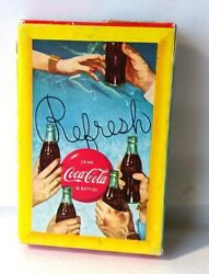 1958 Drink Coca Cola, Playing Cards Play Refreshed Sealed Box