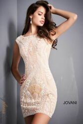 Jovani 2662 Short Cocktail Dress Lowest Price Guarantee New Authentic