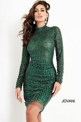 Jovani 1740 Short Cocktail Dress Lowest Price Guarantee New Authentic