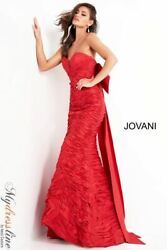 Jovani 02035 Evening Dress Lowest Price Guarantee New Authentic Gown
