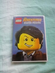 LEGO: The Adventures of Clutch Powers DVD 2015 . 2009 Tinselton Toons $5.80