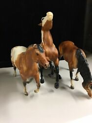 Breyer Horses Lot Of 3 Traditional Size Horses