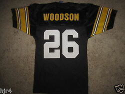 Rod Woodson 26 Pittsburgh Steelers Nfl Champion Jersey Youth Sm S 6-8 Small New