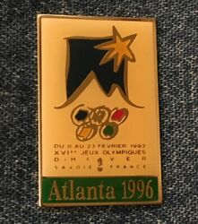 1996 Olympic Commemorative Poster Pin 1960 Squaw Valley Winter Games