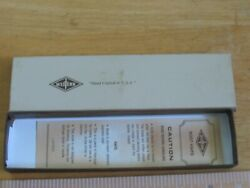 Vintage Box And Papers For Western W75bn Boot Knife Box Only