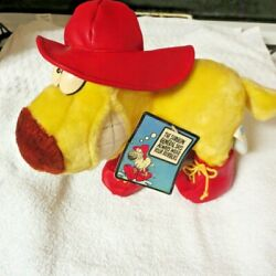 Vintage 1989 Mother Goose And Grimm Grimmy Plush Toy 24k Wear Rubbers