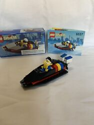 Lego 6537 Classic Town Hydro Racer 100 W/box And Manual Vintage 1994 Rare