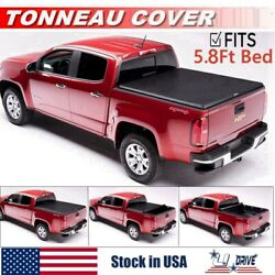 Roll Up Soft For 2014 2018 Chevy Silverado 1500 5.8FT Bed Cover Tonneau Cover $137.50