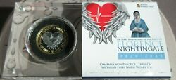 200 Years Anniversary Of The Birth Of Florence Nightingale Proof Fine Silver Andpound2