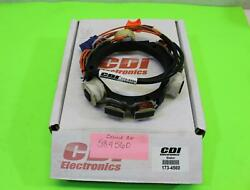 New Johnson Evinrude Outboard Stator 12 Amp 2 And 3 Cylinder 173-4560 / 584560