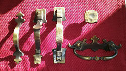 Vintage Amerock Drawer Pull Lot 202-1 207-1 157-1 208-1 And 152-1